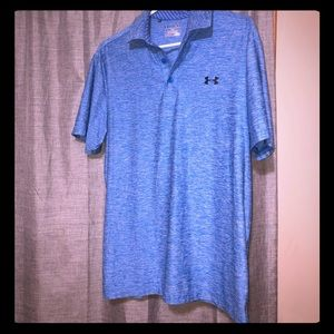 Medium under armour golf shirt